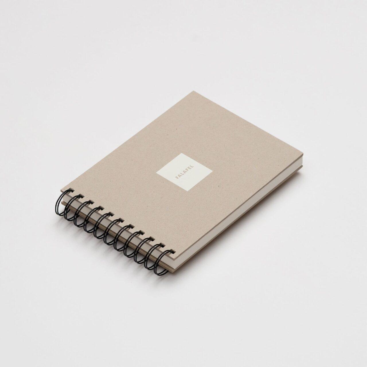 Скетчбук Falafel для рисования с белой бумагой A4