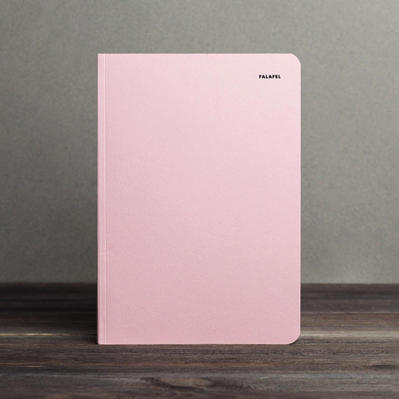 A5 Dot Grid Notebook Pink
