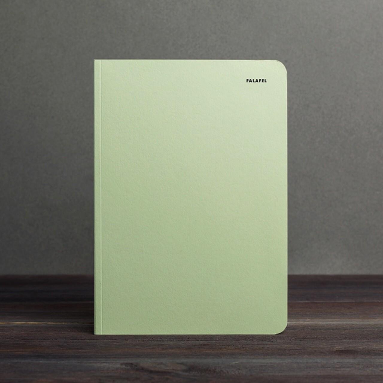 A5 Dot Grid Notebook Pistachio
