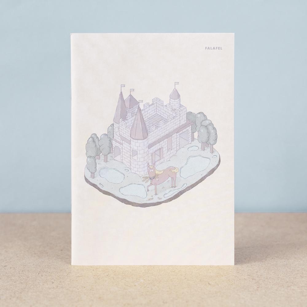 Тетрадь в клетку Falafel Castle A5