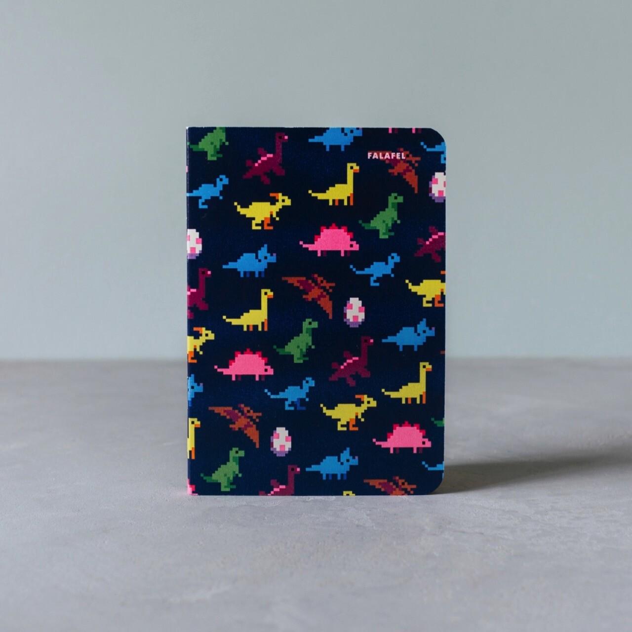 Блокнот Falafel Dinosaurs A6