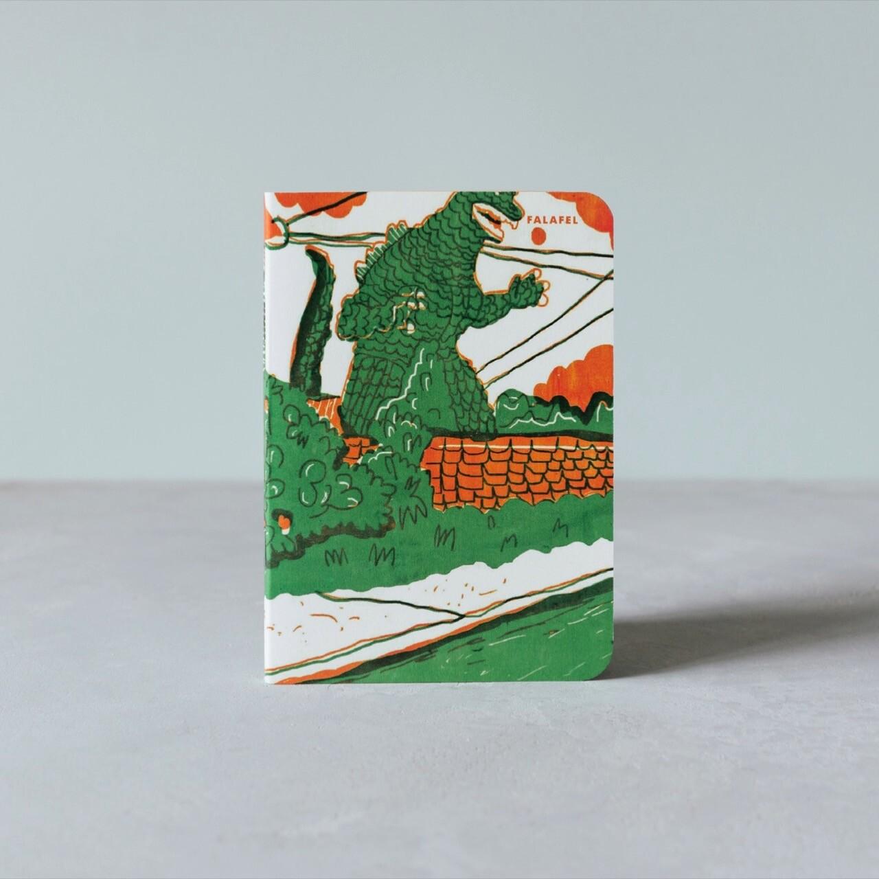 Блокнот Falafel Godzilla A6