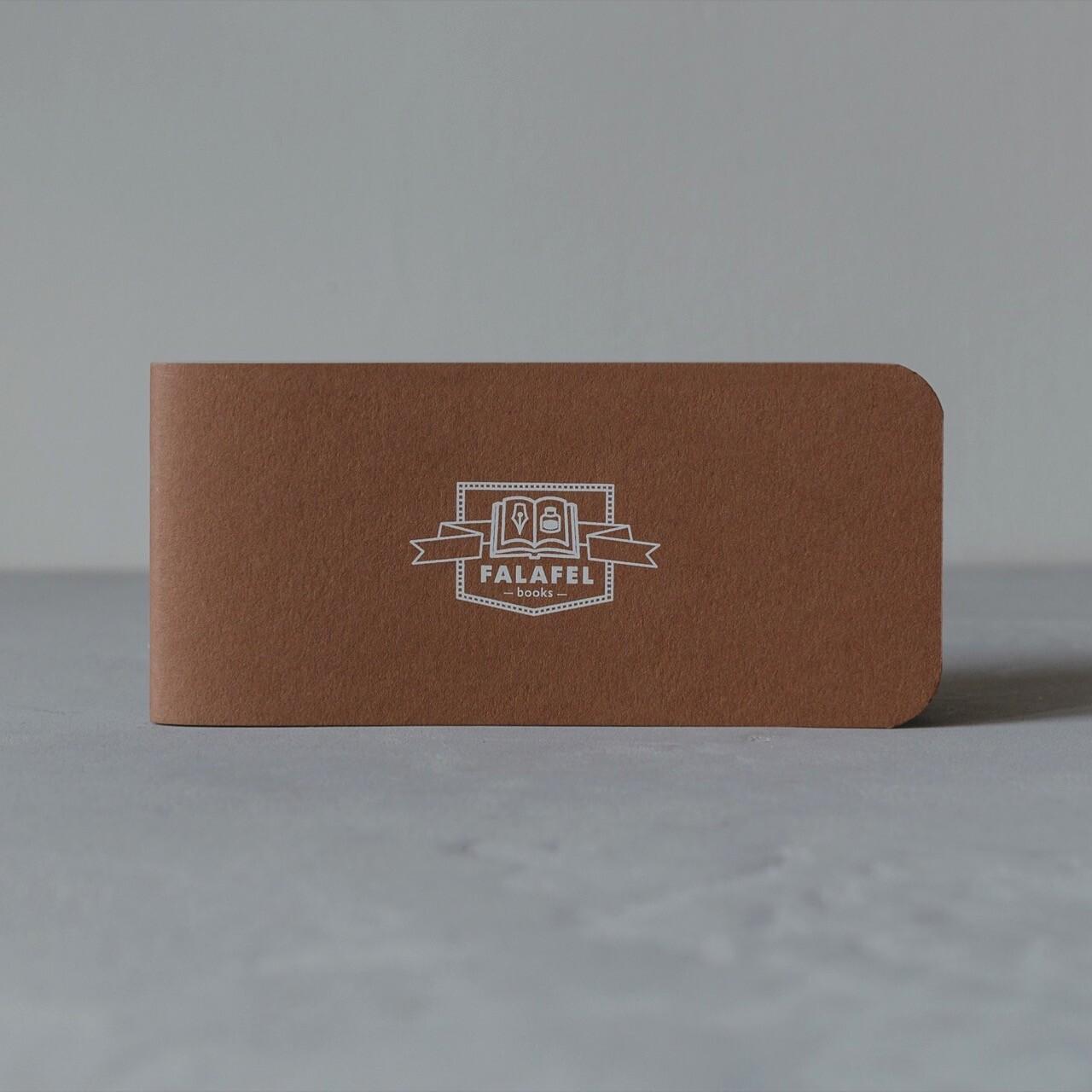 Блокнот Falafel Brown A7