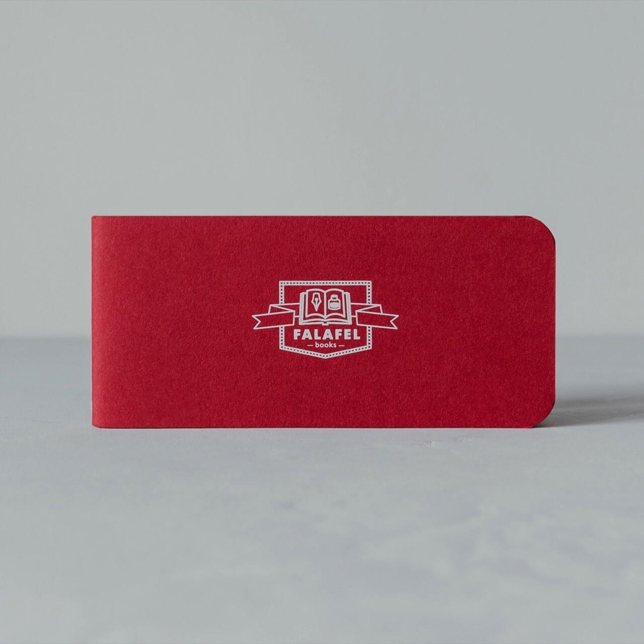 Блокнот Falafel Red A7