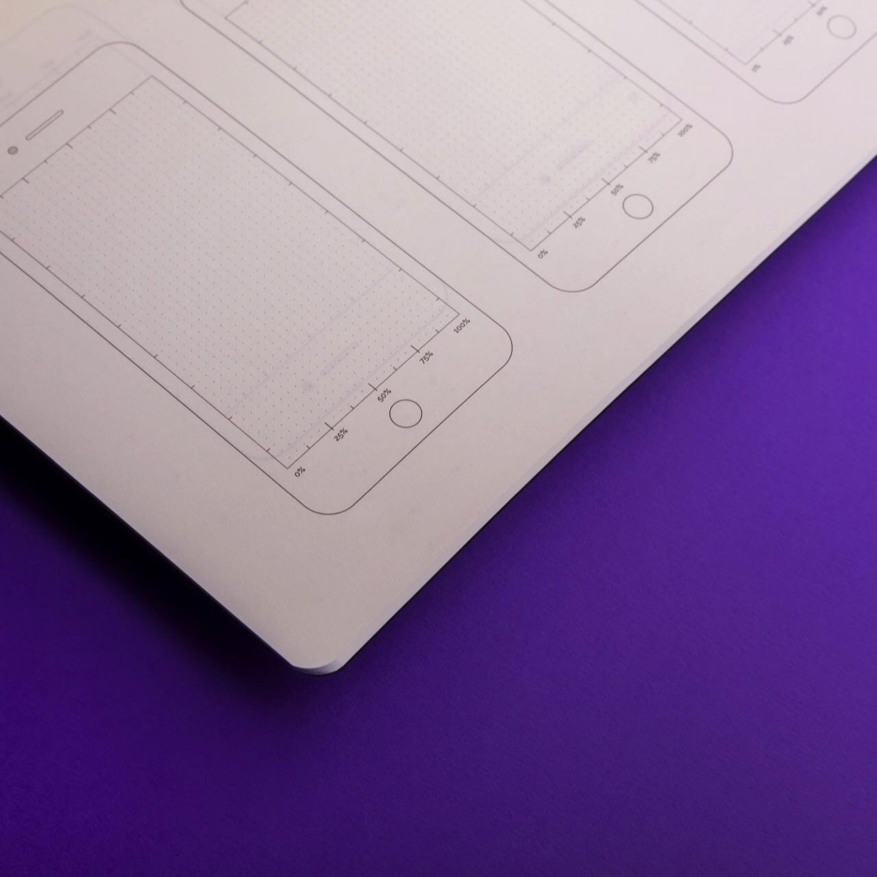 Блокнот для дизайнеров Falafel + AIC Black