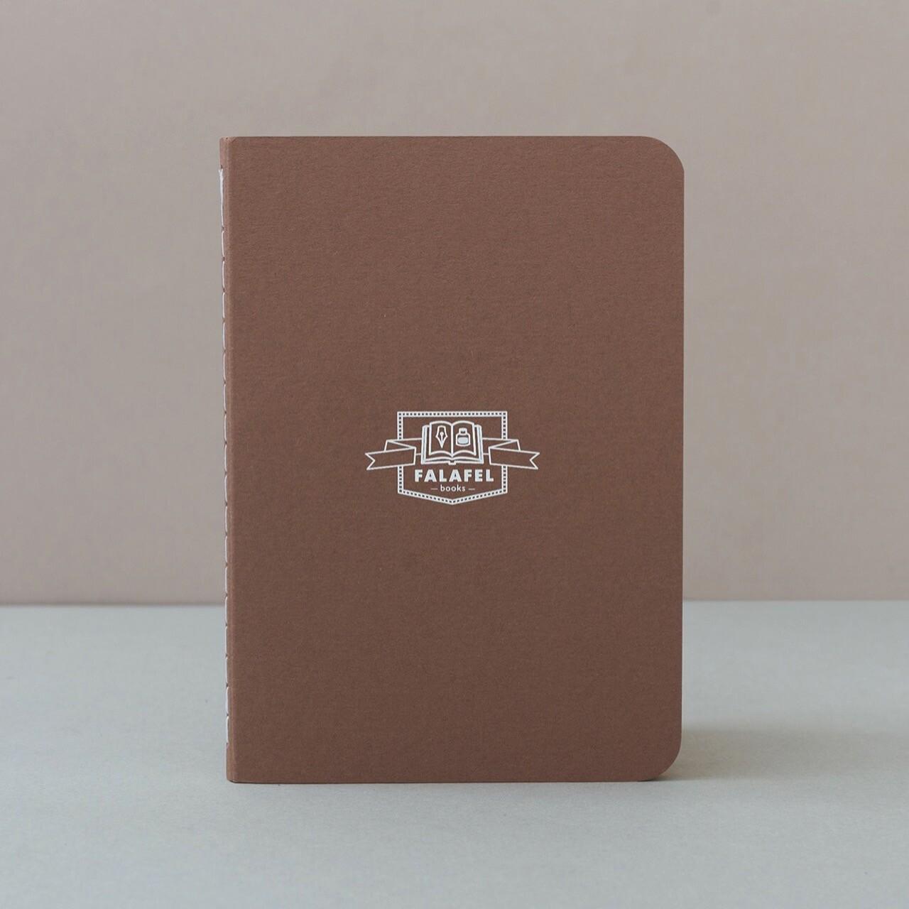 Скетчбук Falafel Brown A6