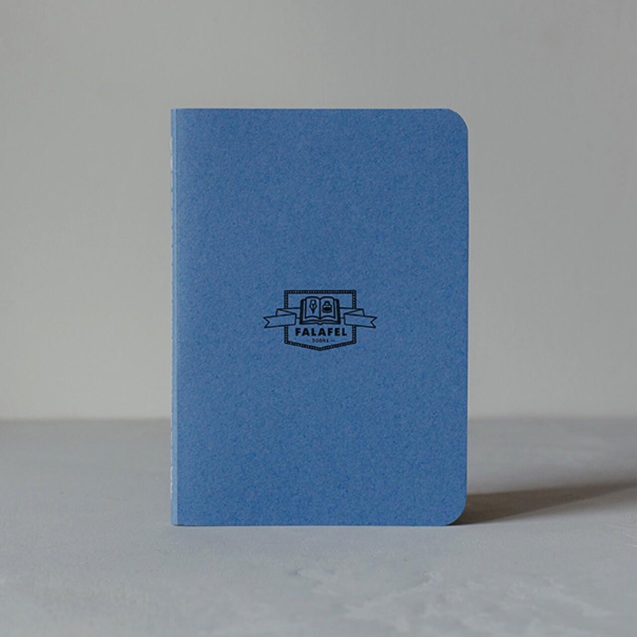 Скетчбук Falafel Forget-Me-Not-Blue A6