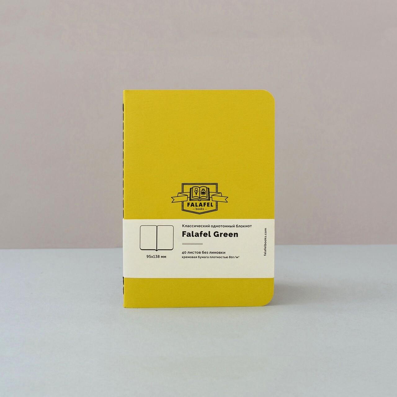 Скетчбук Falafel Green A6