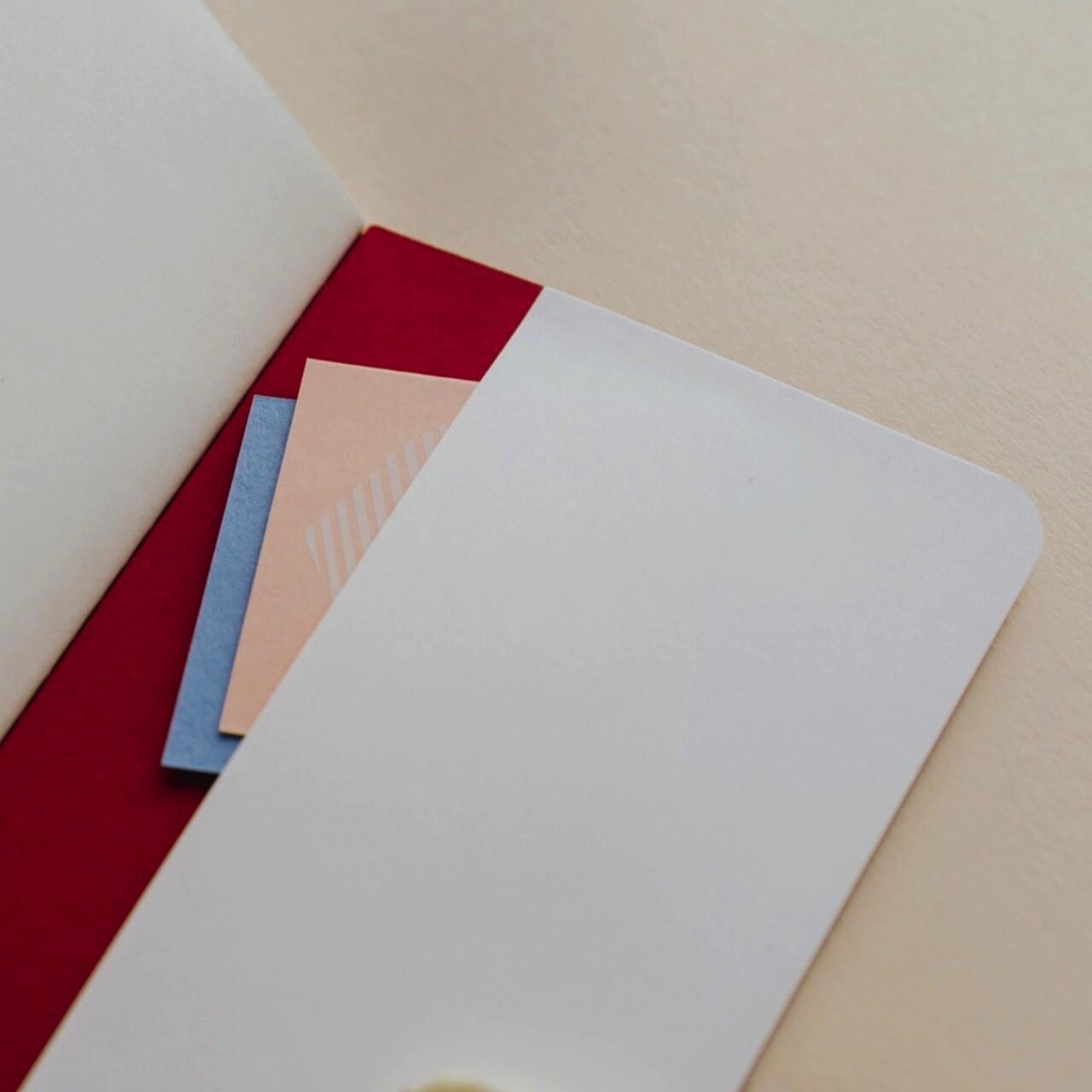 Скетчбук Falafel Red A6