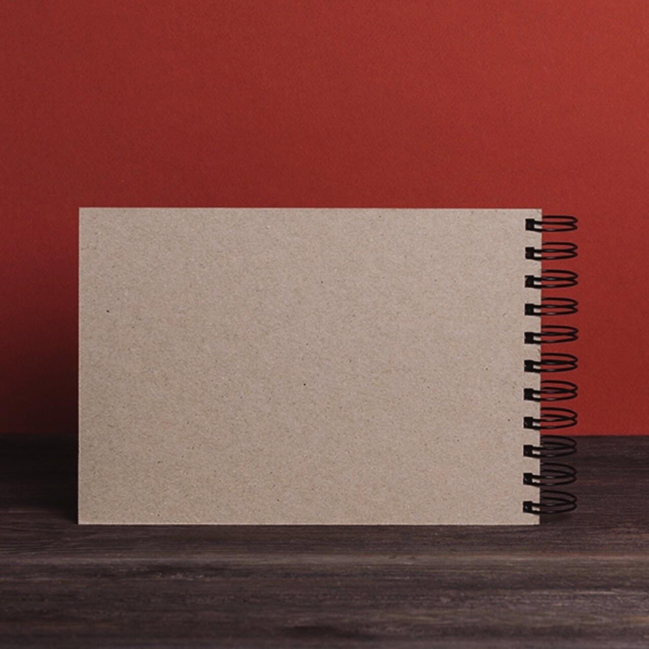Скетчбук Falafel с крафтовой бумагой A5