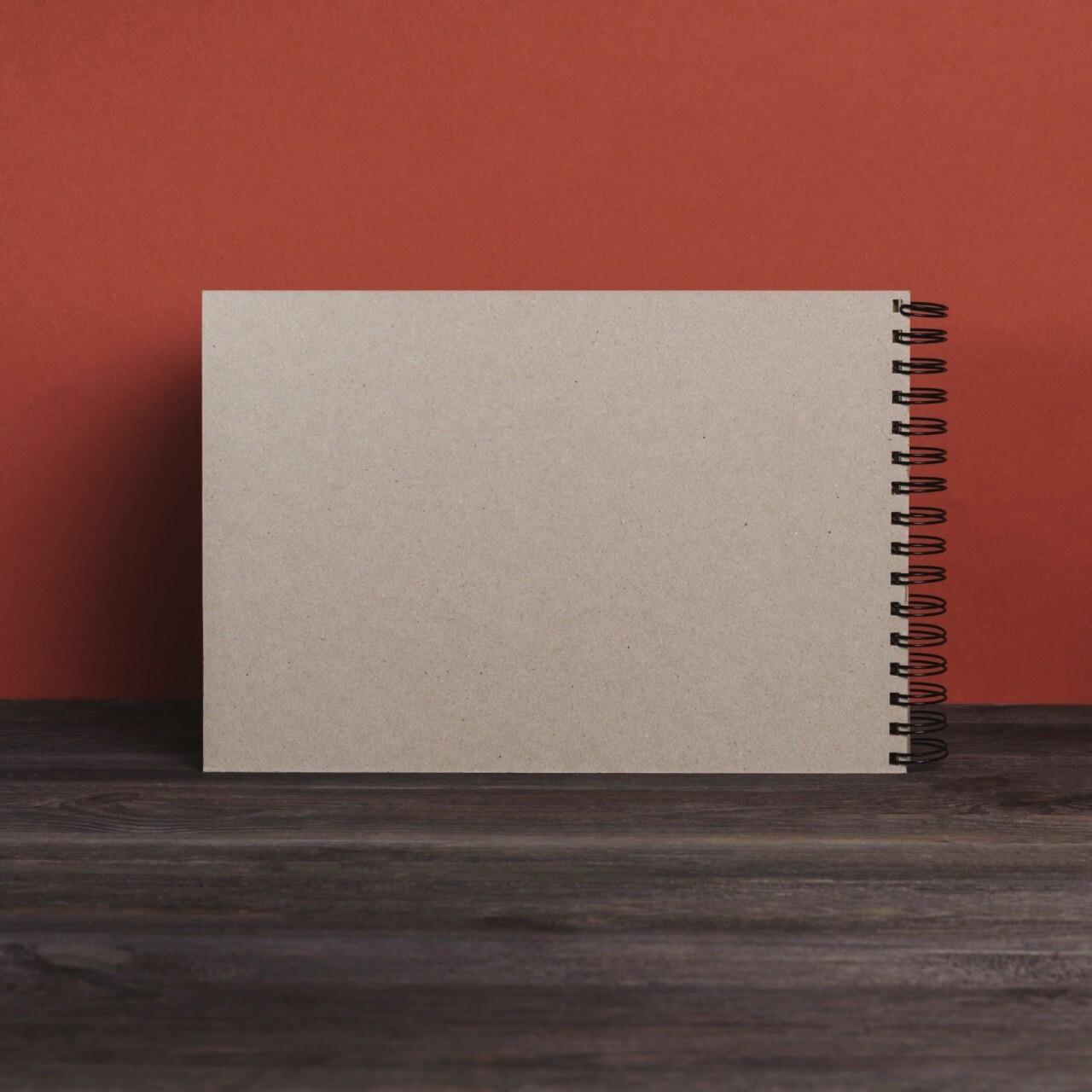 Скетчбук Falafel с крафтовой бумагой A4