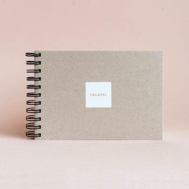 Скетчбук Falafel для рисования с белой бумагой A5