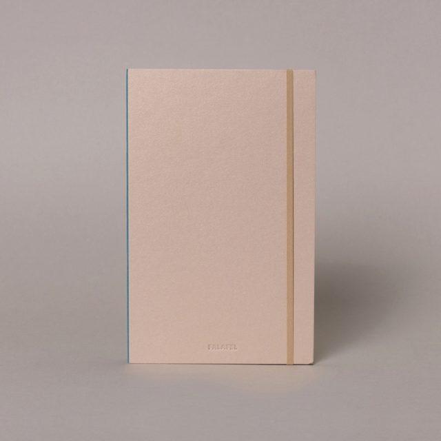 Скетчбук для акварели в твёрдой обложке c 100% хлопком Falafel A5