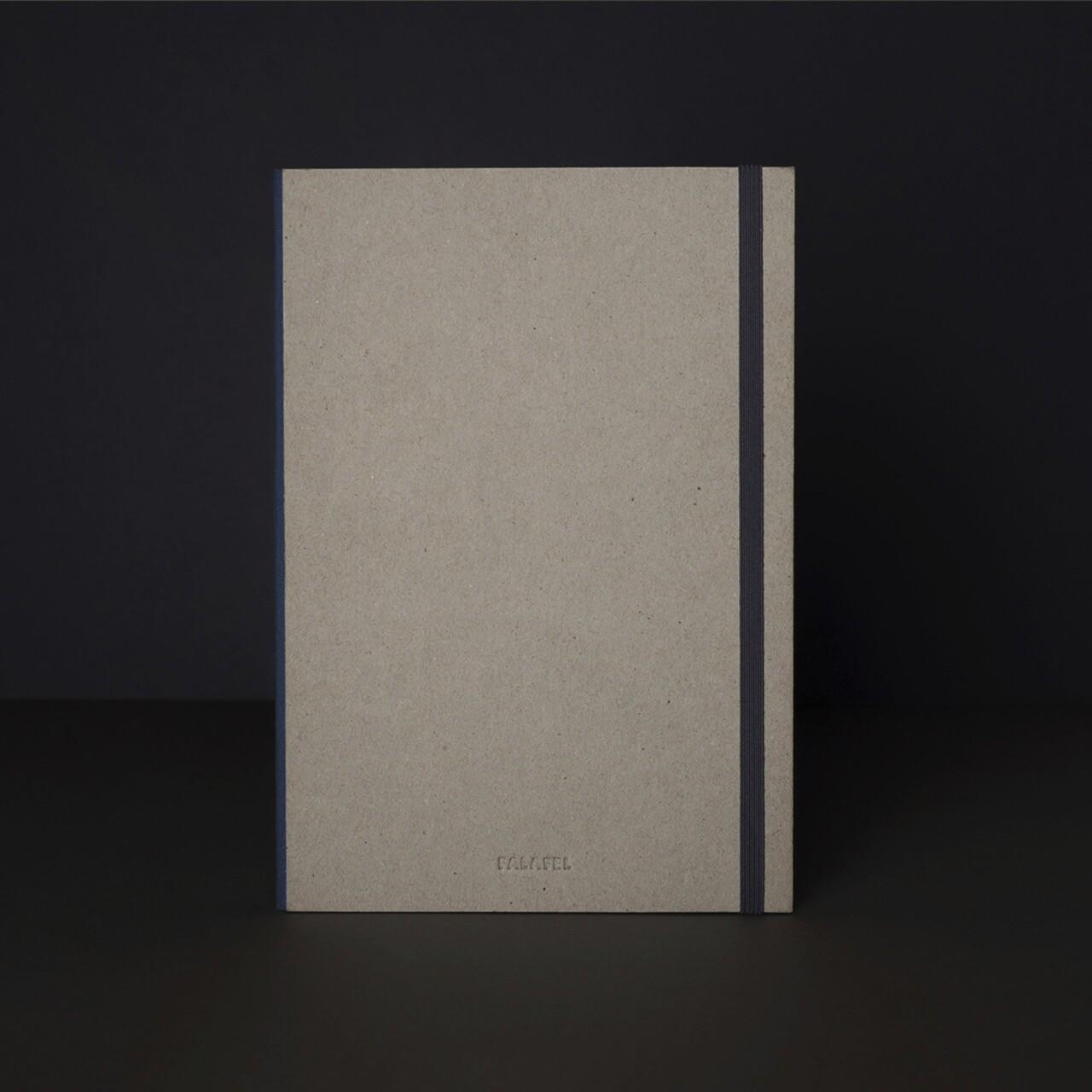 Скетчбук для графики в твёрдой обложке Falafel A5