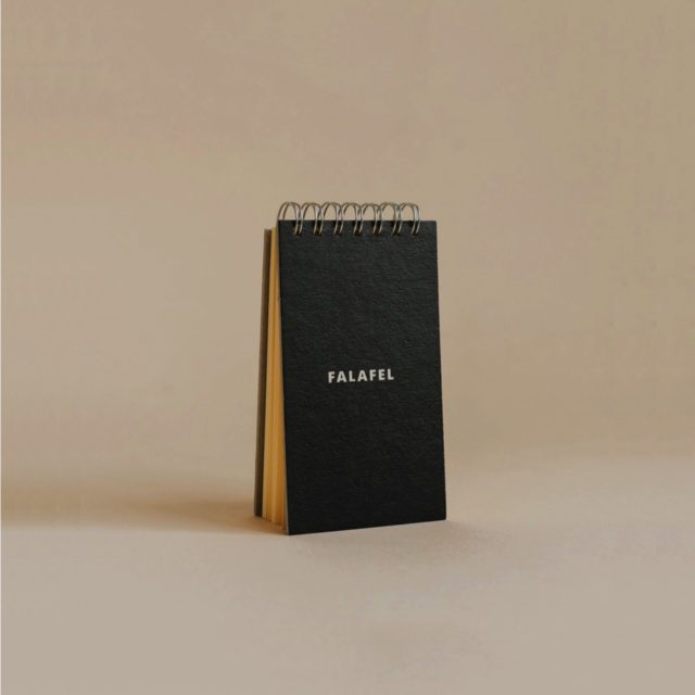 Скетчбук Falafel Notepad Black A7