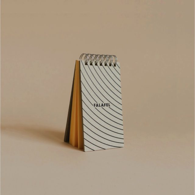 Блокнот Falafel Notepad In Orbit A7