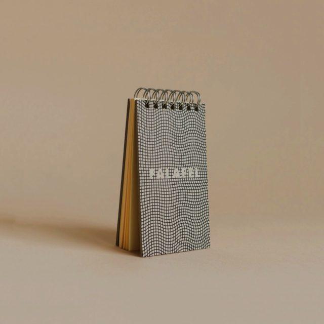 Скетчбук Falafel Notepad Isometric A7