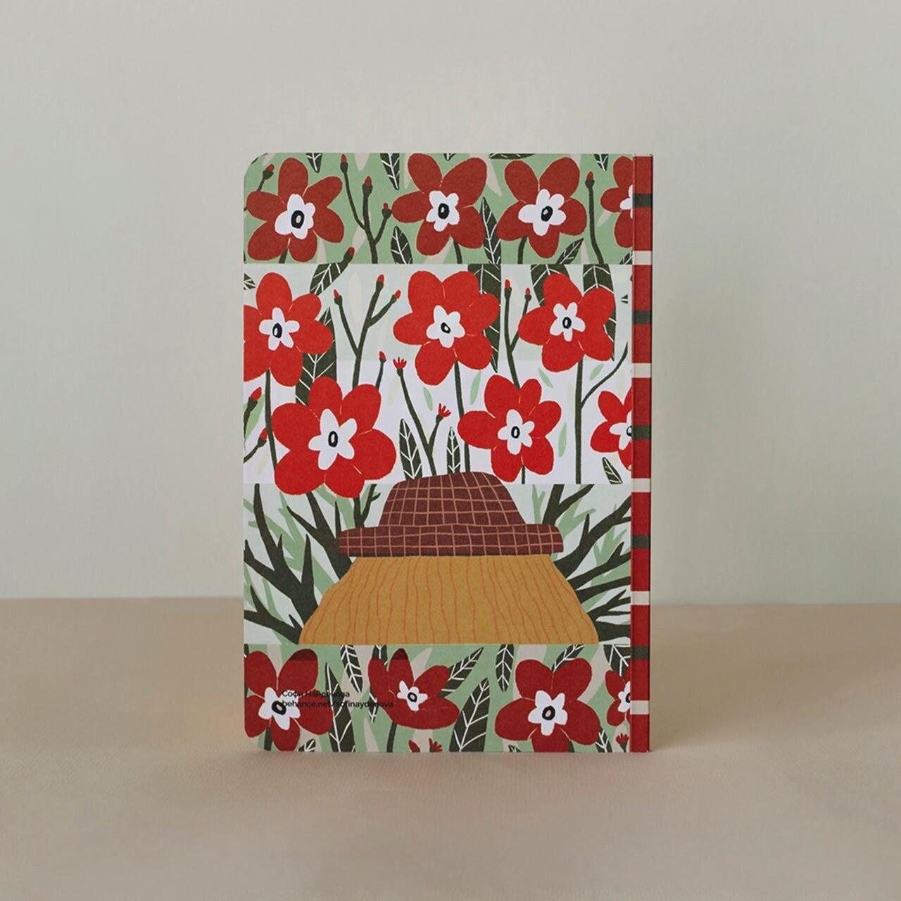 Блокнот Falafel Flower Power A5
