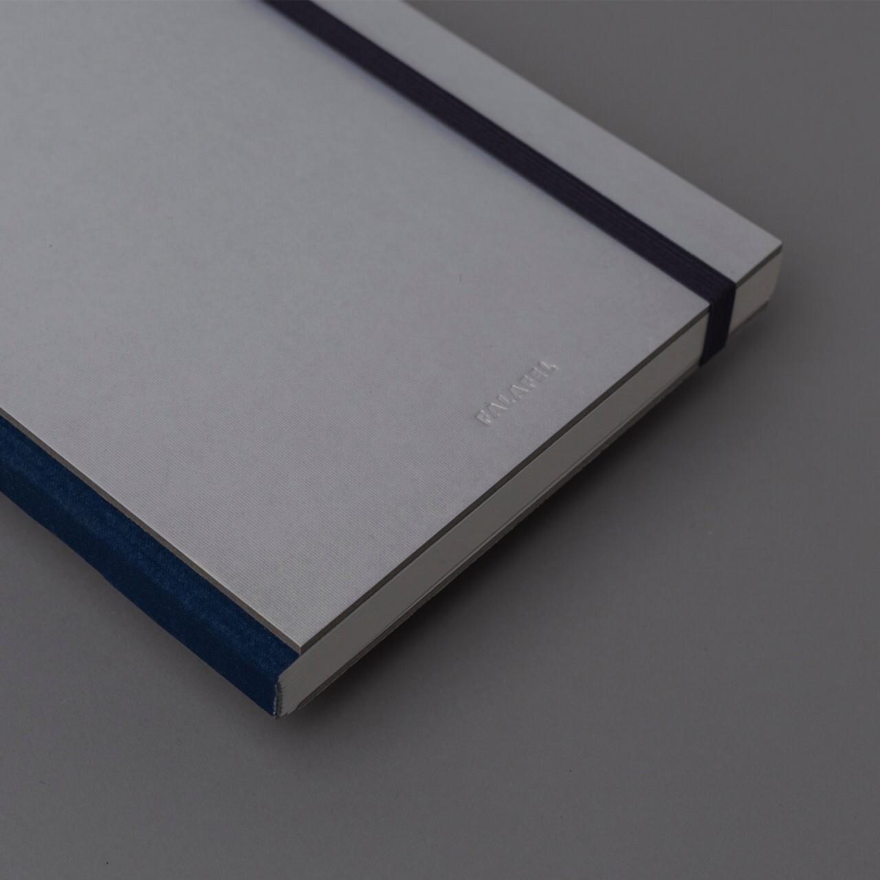 Скетчбук для графики в твёрдой обложке Falafel Pearl A5, 60 л., 160 г/м²