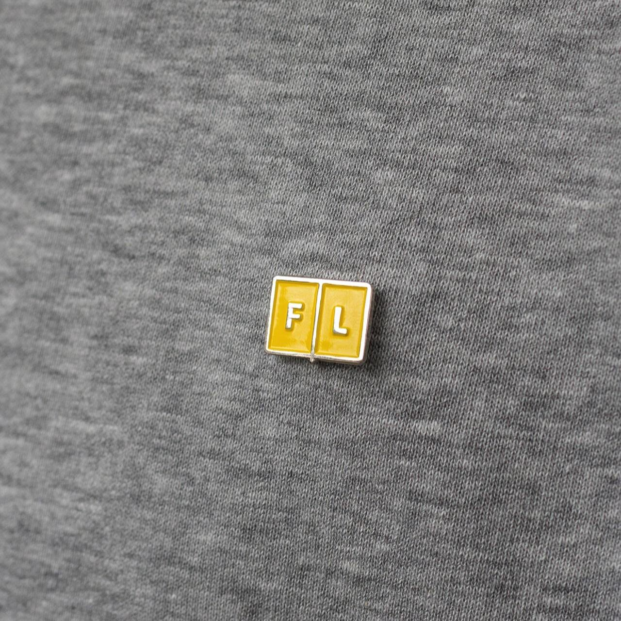 Значок Falafel Pin Yellow