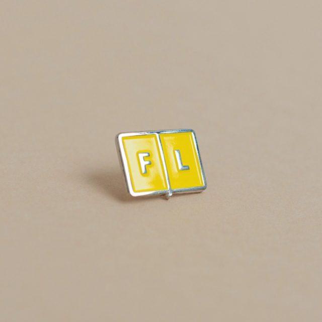 Значок Falafel Pin Red