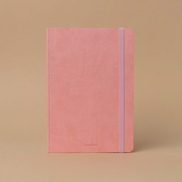 A5 Dot Grid Notebook Pink