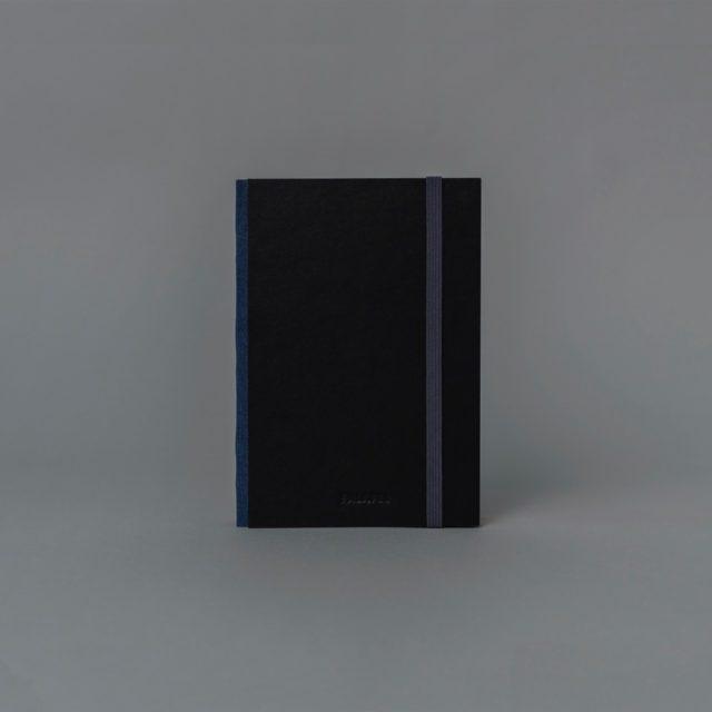 Скетчбук для графики в твёрдой обложке Falafel Black A6