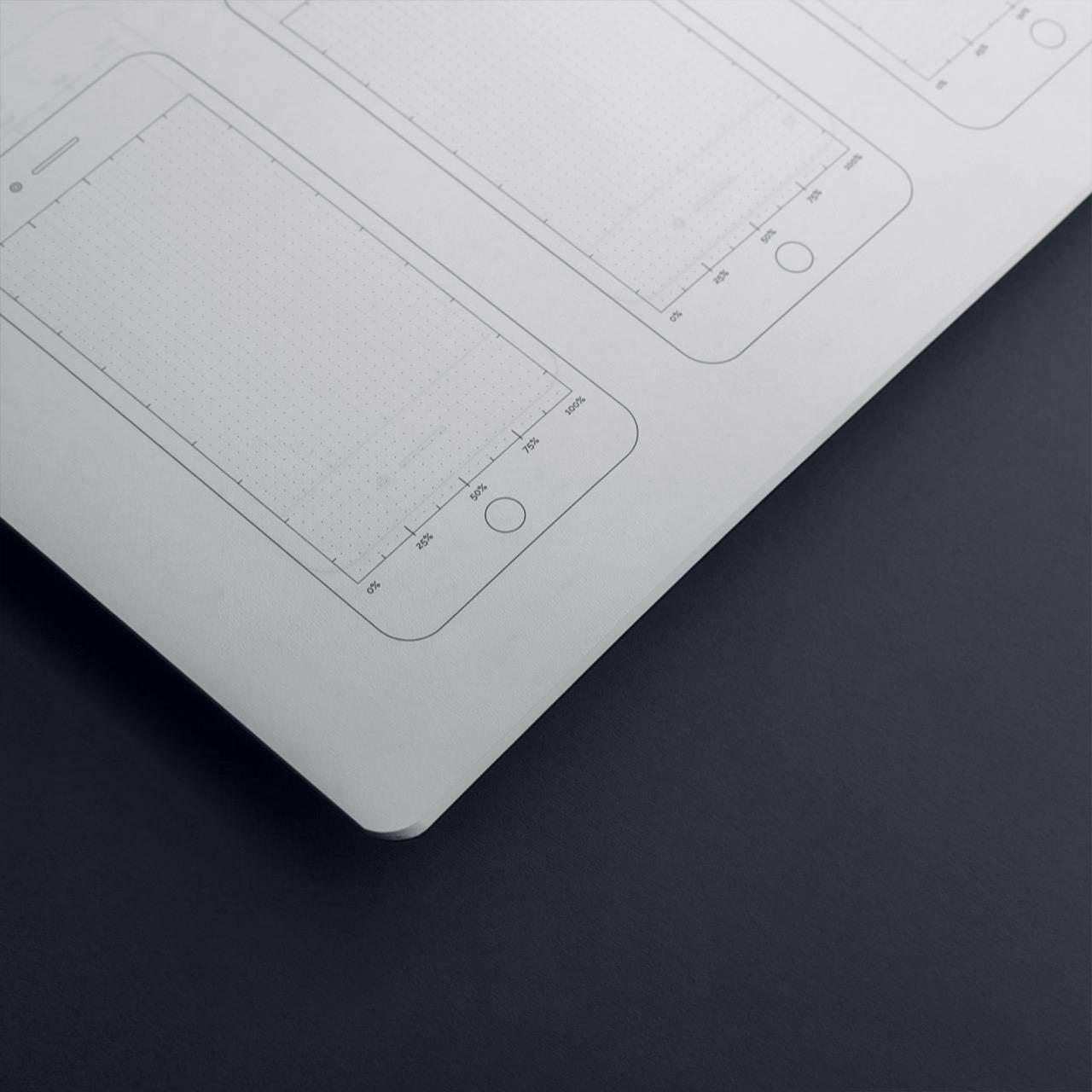 Блокнот для дизайнеров Falafel + AIC Grey