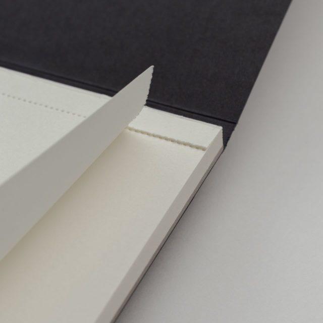 Блокнот для записей с отрывными листами A5 Чёрный