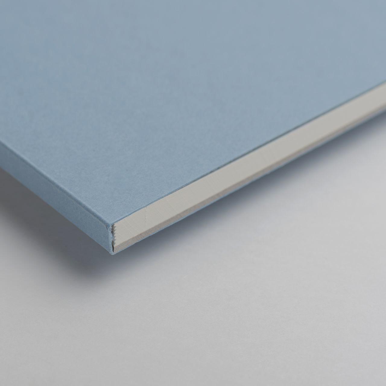 A5 Голубой скетчбук с перфорацией Falafel books Sketchbook Ash Blue