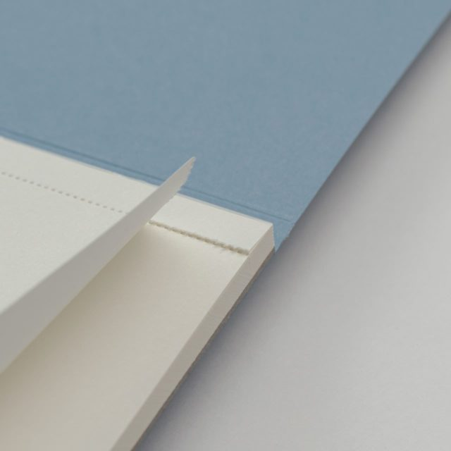 Блокнот для записей с отрывными листами A5 Голубой