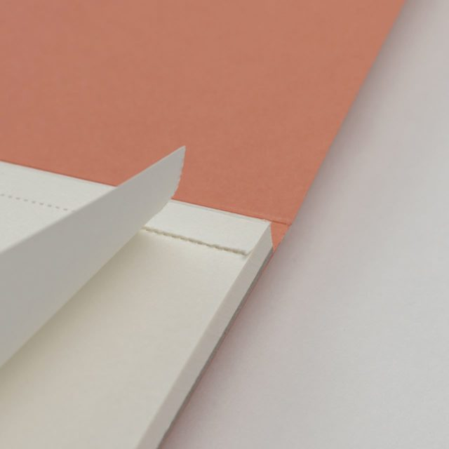 Блокнот для записей с отрывными листами A5 Терракотовый