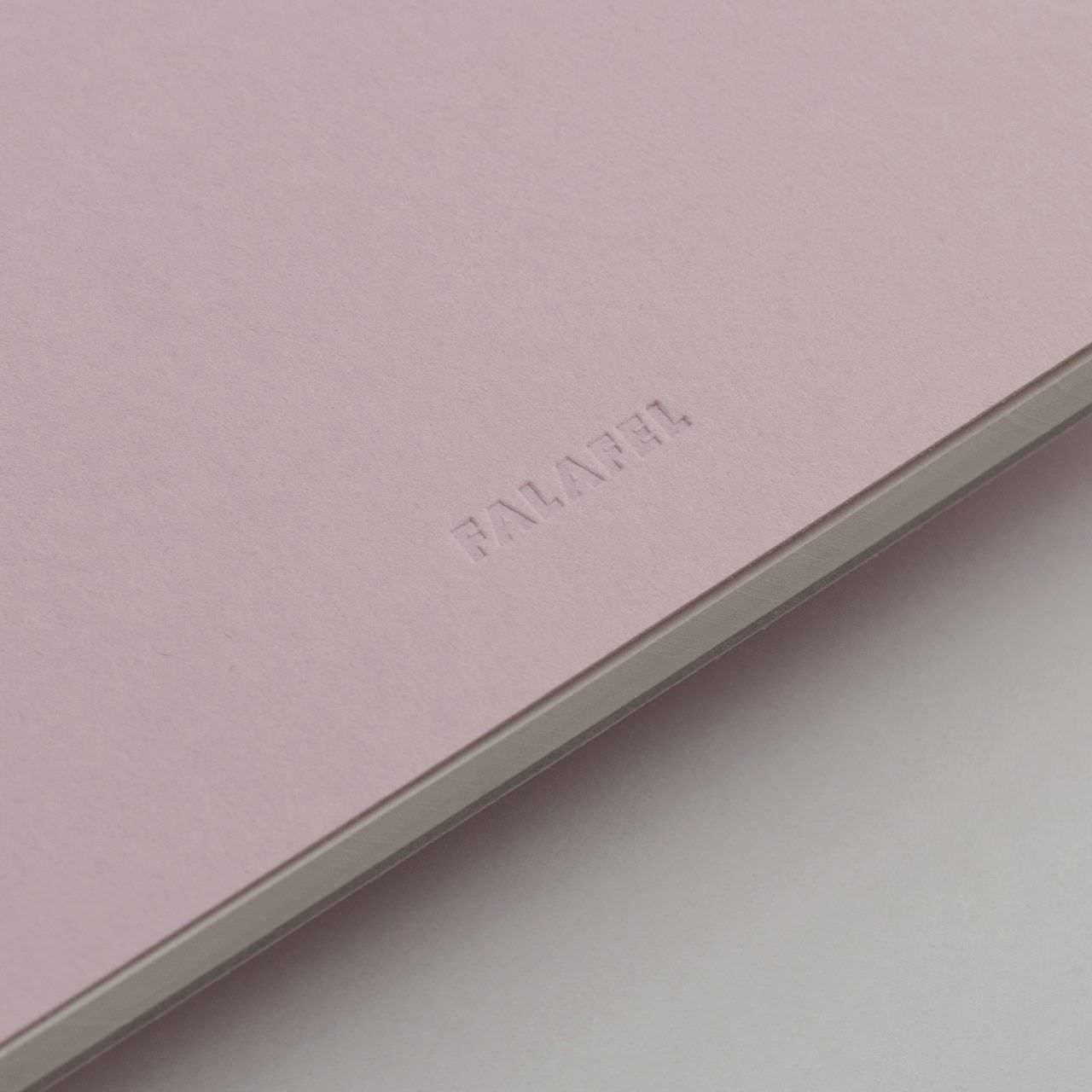 A5 Розовый скетчбук с перфорацией Falafel books Sketchbook Pale Pink