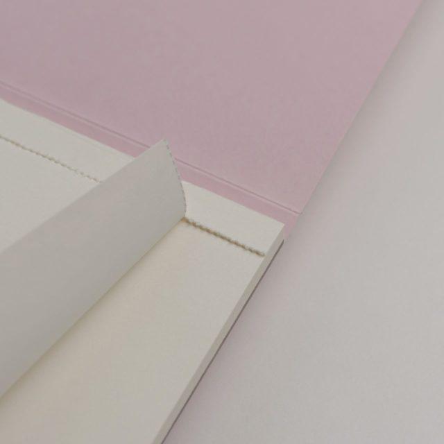 Блокнот для записей с отрывными листами A5 Розовый