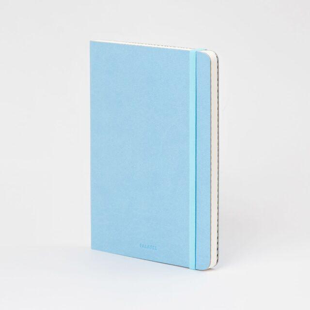 Блокнот в точку Falafel Sky Blue A5