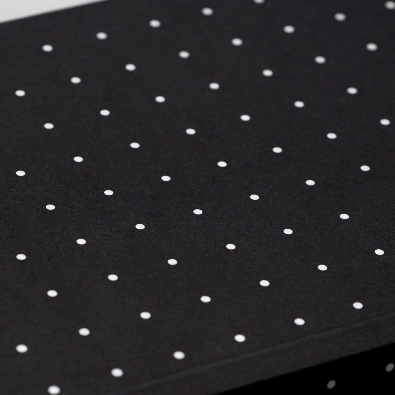 Блокнот в точку Falafel Silver Dots A5