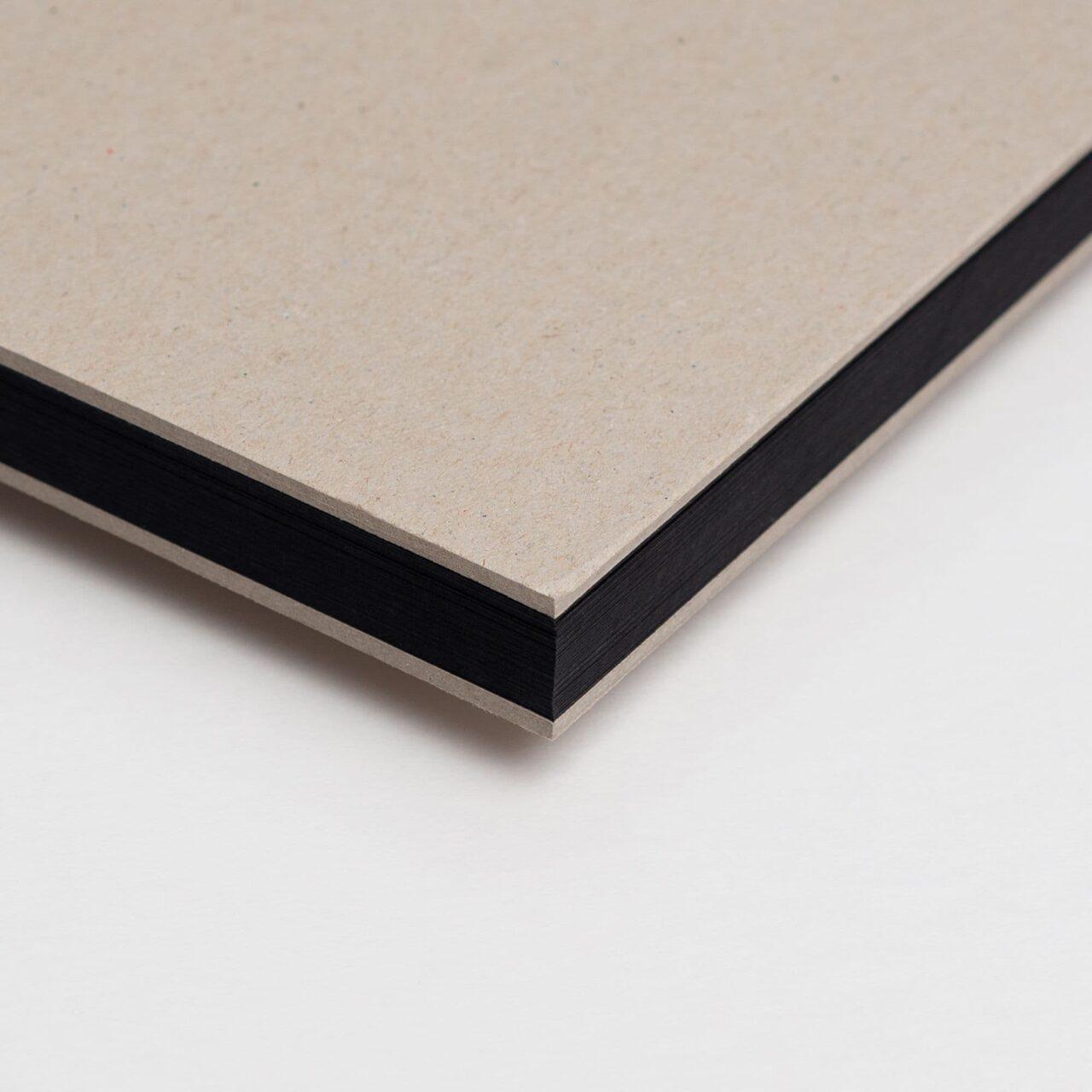 Скетчбук Falafel с чёрной бумагой A4