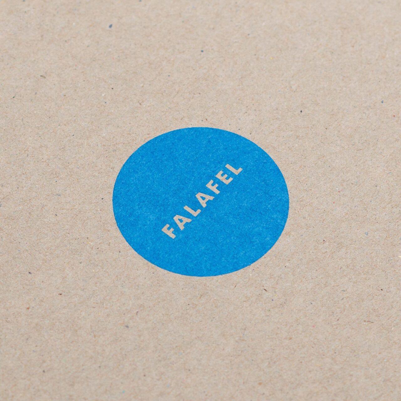 Скетчбук Falafel для акварели A5, 200 г/м², 50л
