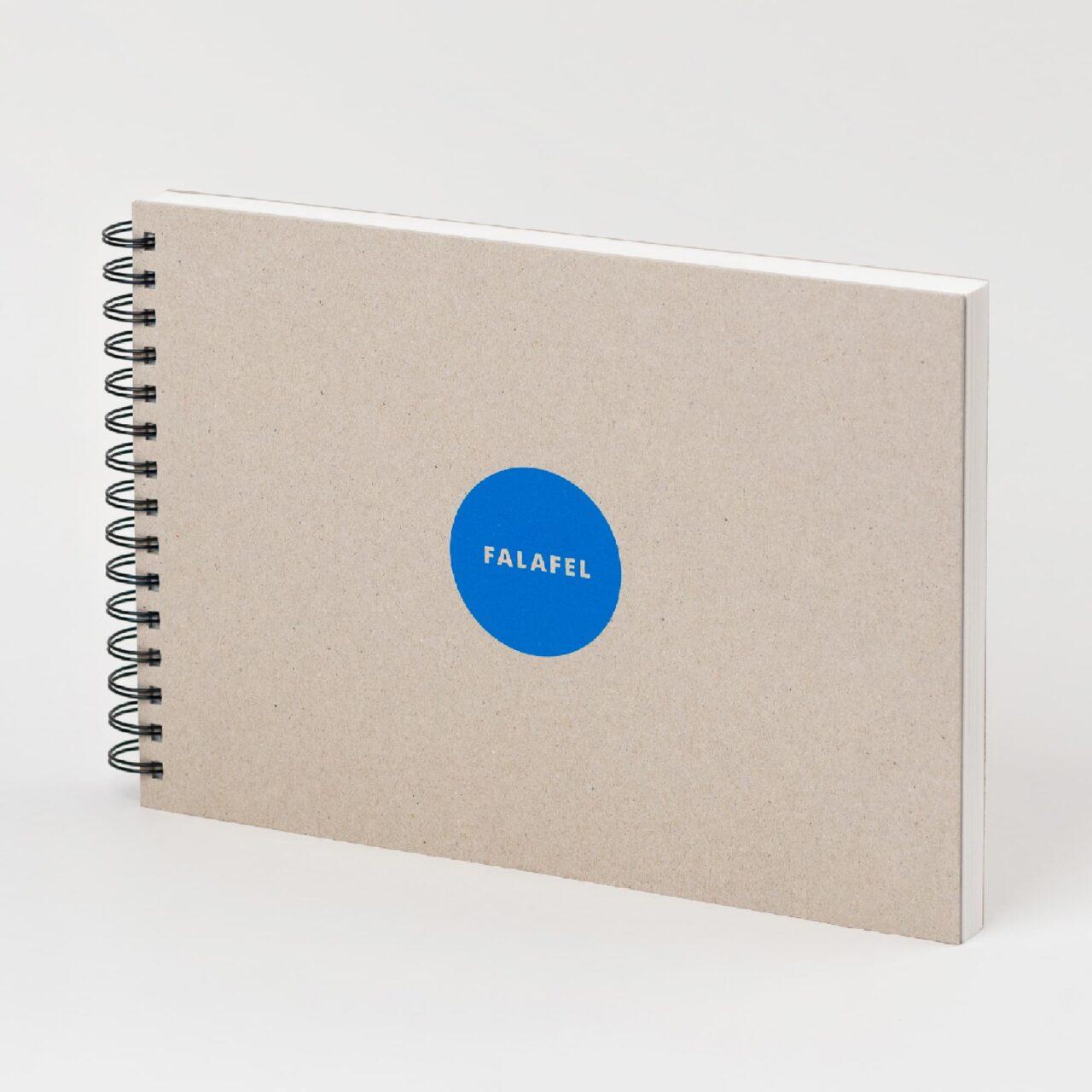 Скетчбук Falafel для акварели A4, 200 г/м², 50л