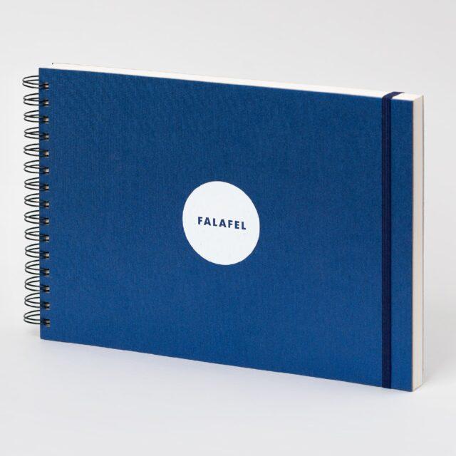 Скетчбук Falafel для акварели с 50% хлопком A4
