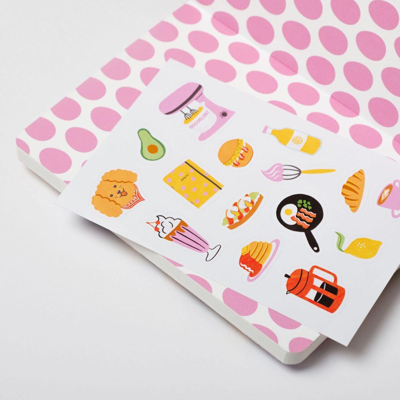 Блокнот в точку Falafel books × Eggsellent