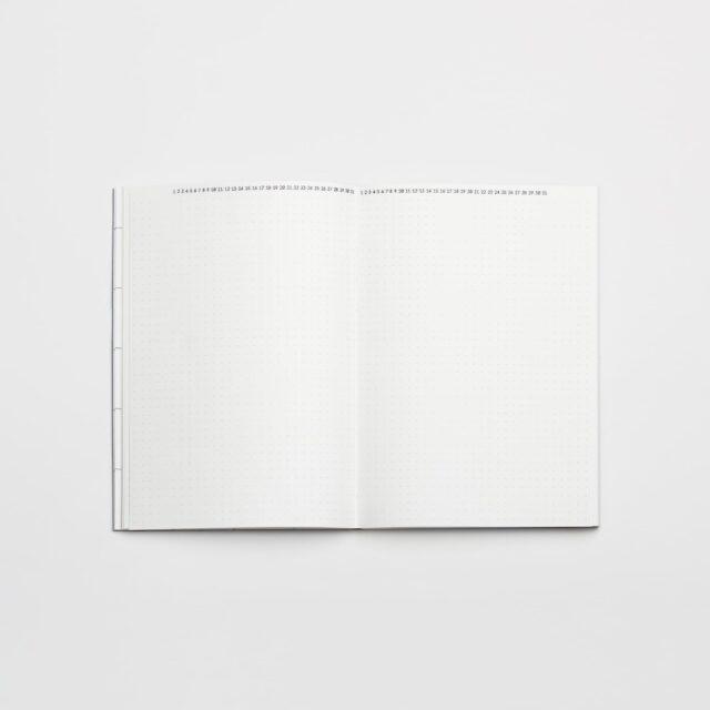Недатированный ежедневник Falafel Daily A5, 1 день на страницу, 240 стр