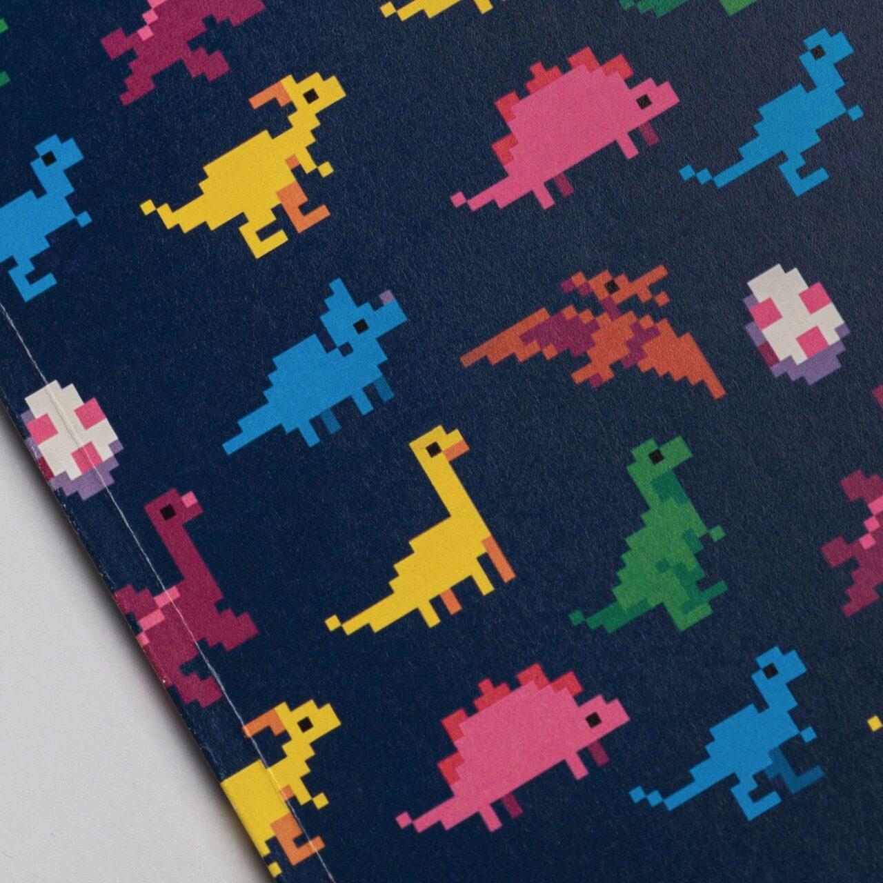 Блокнот Falafel Dinosaurs A5