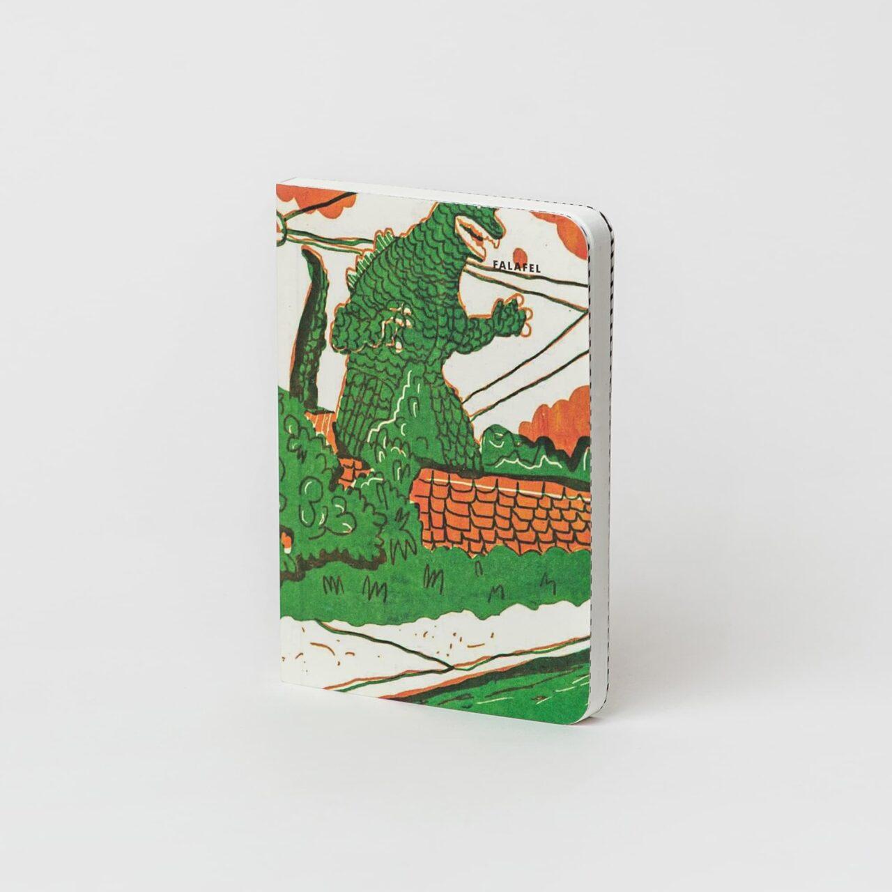 Блокнот в точку Falafel Godzilla A6