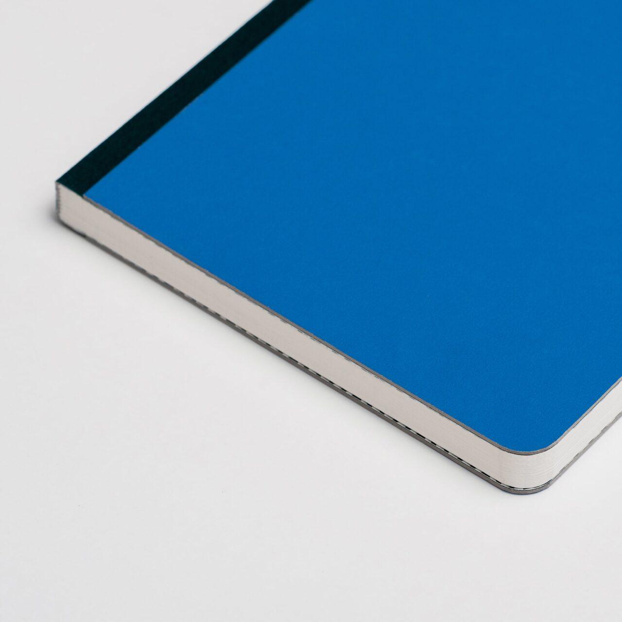 Блокнот в точку Falafel Classic Blue A5 в твёрдой обложке