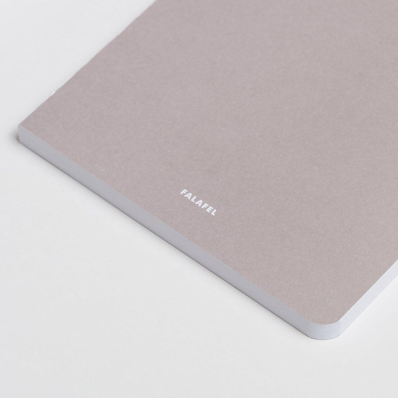 Скетчбук для графики Falafel Soft Grey A5, 48 л., 190 г/м²