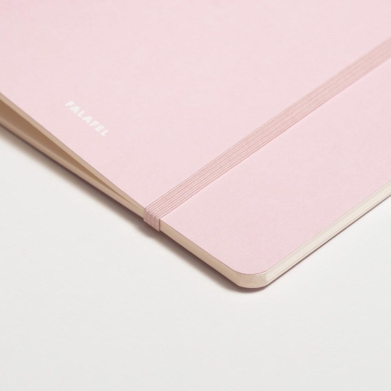 Скетчбук Falafel Pale Pink для акварели, 19×19 см, 200 г/м², 20л